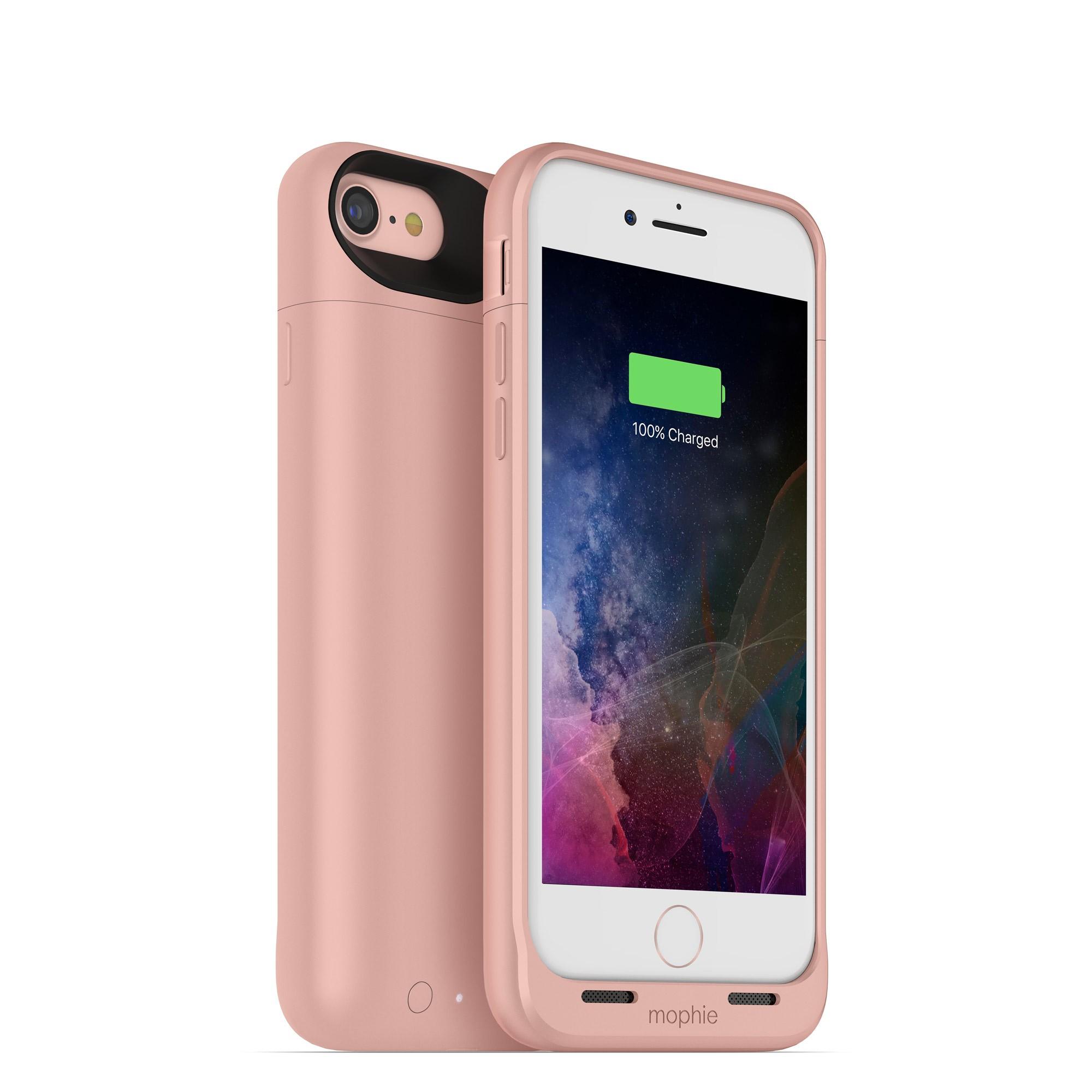 Nabíjecí pouzdro pro Apple iPhone 7 - Mophie, Juice Pack Air 2525mAh Rose Gold