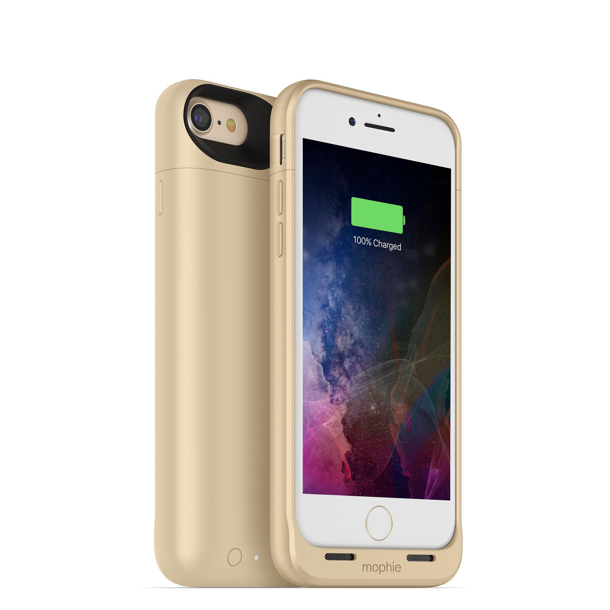 Nabíjecí pouzdro pro Apple iPhone 7 - Mophie, Juice Pack Air 2525mAh Gold
