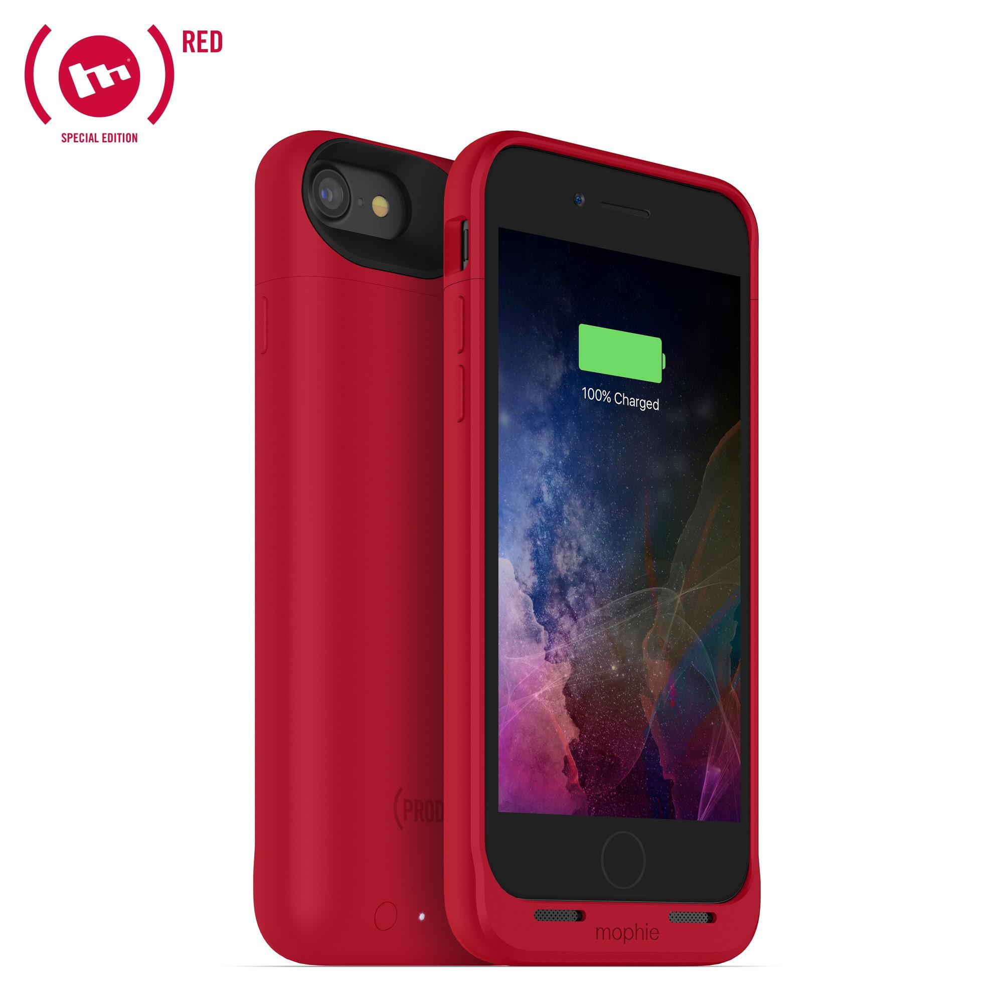 Nabíjecí pouzdro pro Apple iPhone 7 - Mophie, Juice Pack Air 2525mAh Red