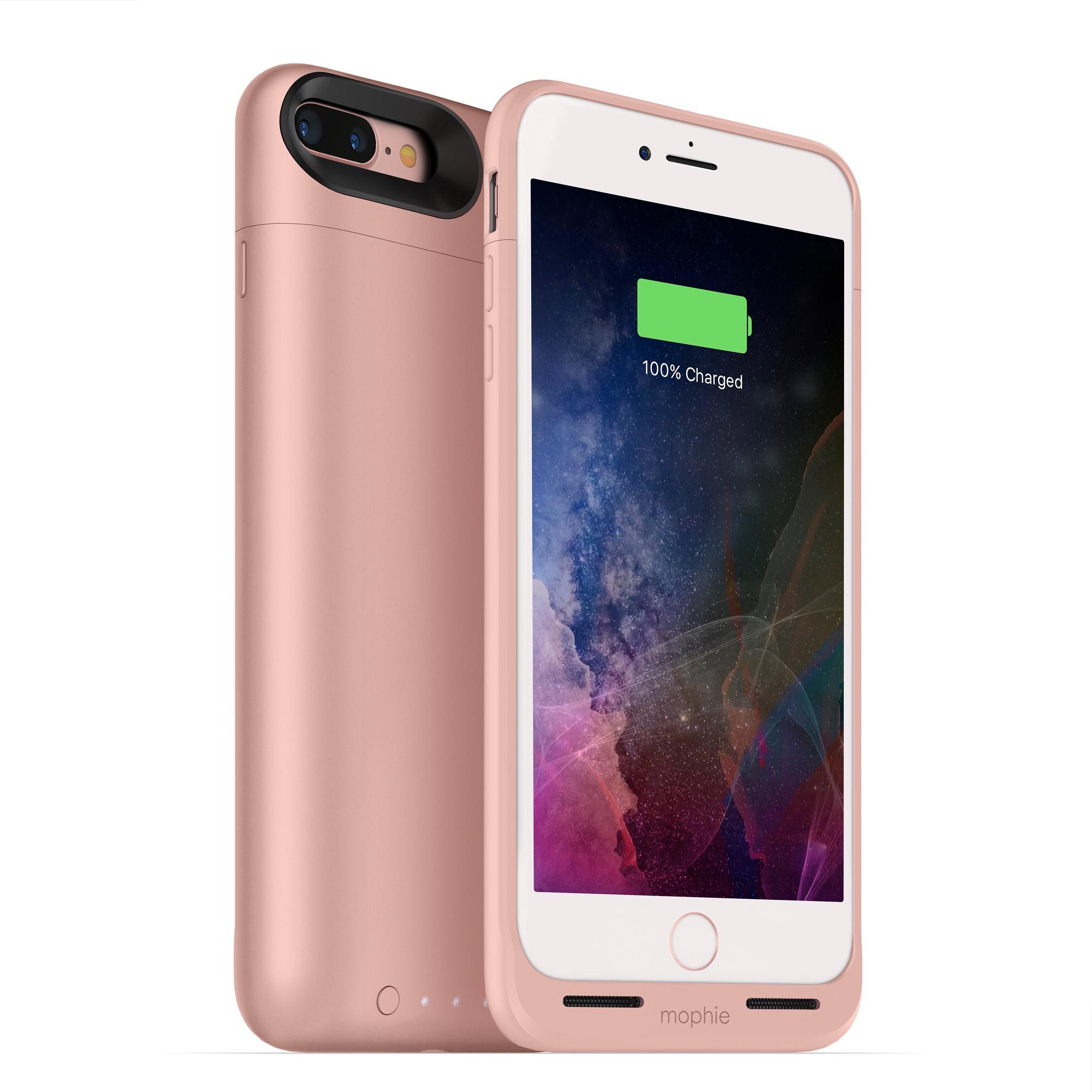 Nabíjecí pouzdro pro Apple iPhone 7 PLUS - Mophie, Juice Pack Air 2420mAh Rose Gold
