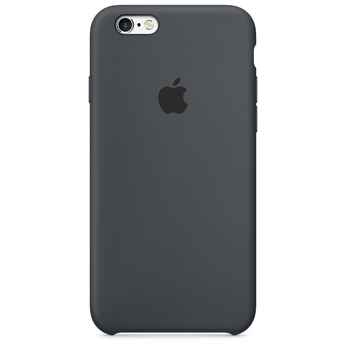 Pouzdro / kryt pro Apple iPhone 6 / 6S - Apple, Silicone Case Charcoal Gray