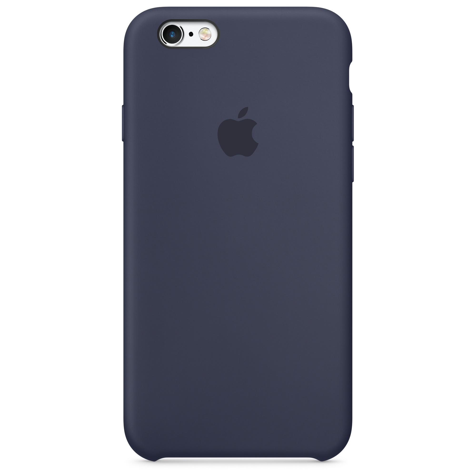 Pouzdro / kryt pro Apple iPhone 6 / 6S - Apple, Silicone Case Midnight Blue