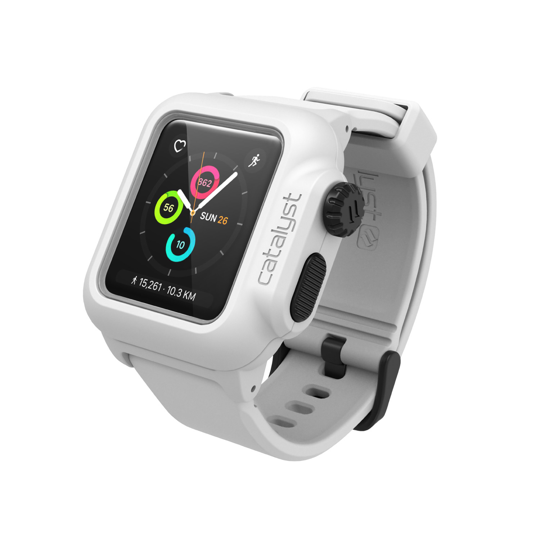 Voděodolné pouzdro / kryt pro 38mm Apple Watch SERIES 2 - Catalyst, Waterproof White