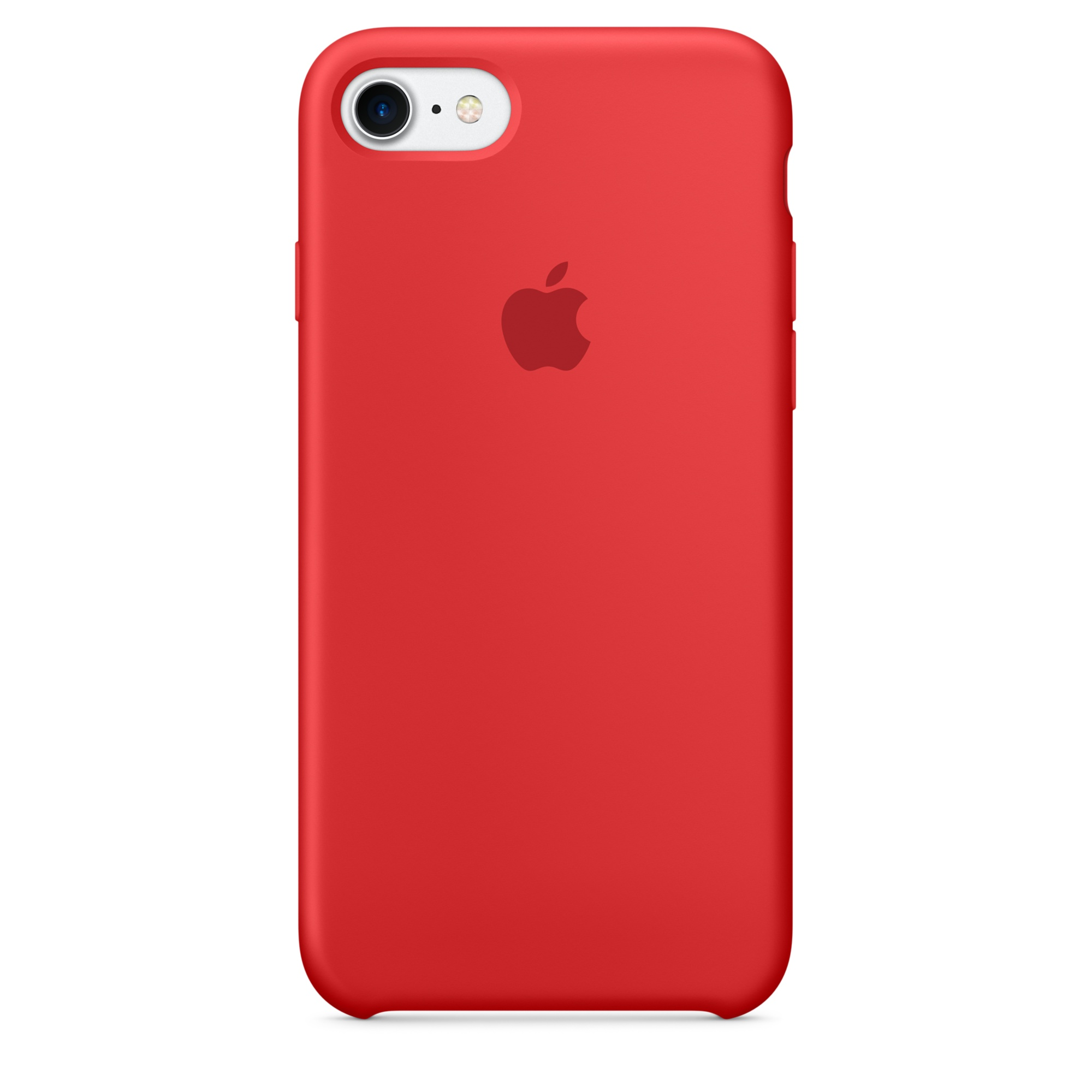 Pouzdro / kryt pro Apple iPhone 7 - Apple, Silicone Case Red