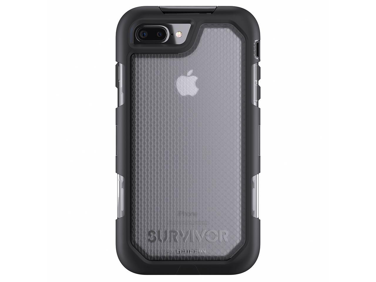 Pouzdro / kryt pro Apple iPhone 7 PLUS - Griffin, Survivor Summit Clear