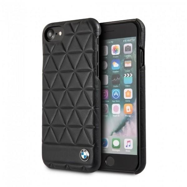 Pouzdro / kryt pro iPhone 7 / 8 - BMW, Hexagon Back Black