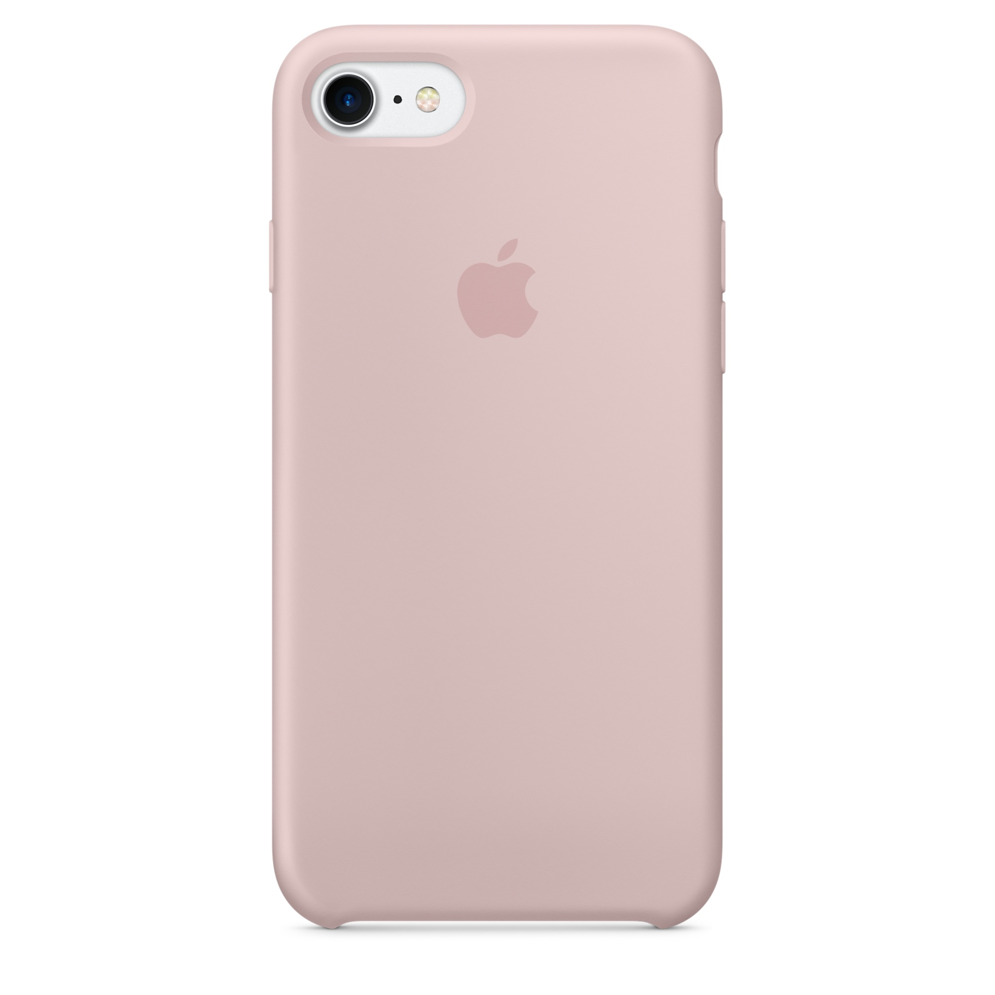 Pouzdro / kryt pro Apple iPhone 7 - Apple, Silicone Case Pink Sand