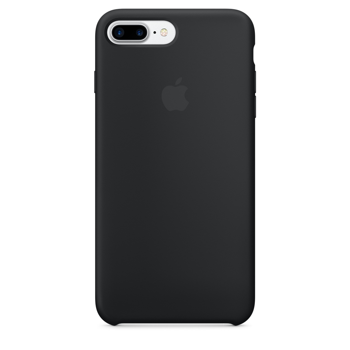 Pouzdro / kryt pro Apple iPhone 7 PLUS - Apple, Silicone Case Black