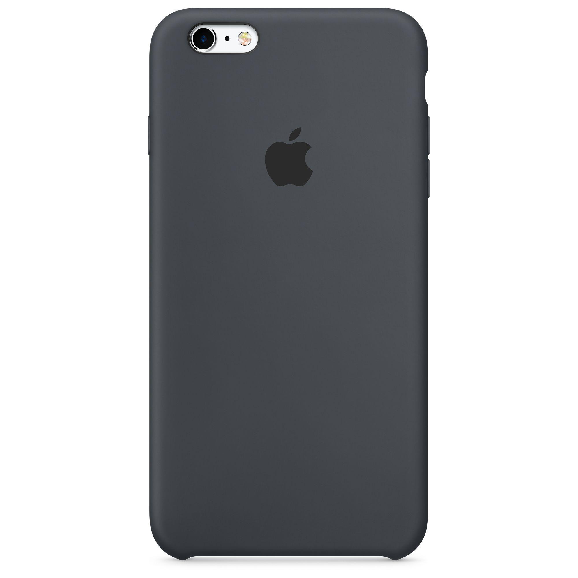 Pouzdro / kryt pro Apple iPhone 6 Plus / 6S Plus - Apple, Silicone Case Charcoal Gray