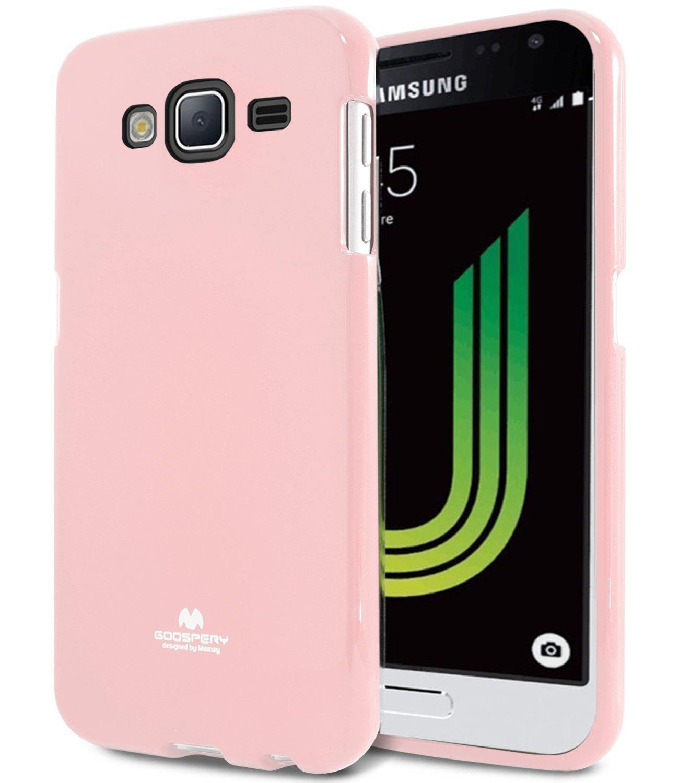 Pouzdro / kryt pro Samsung GALAXY J3 (2016) J3109 - Mercury, Jelly Pink