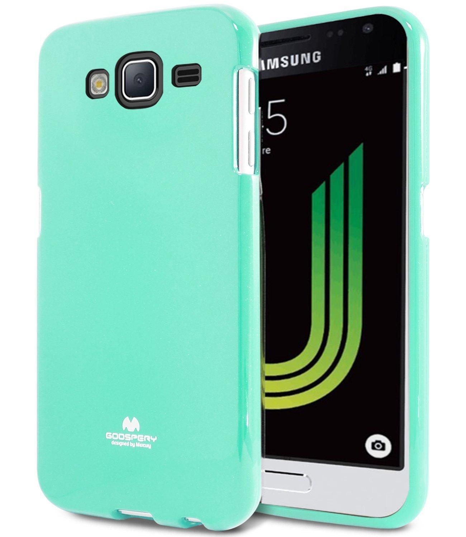 Pouzdro / kryt pro Samsung GALAXY J3 (2016) J3109 - Mercury, Jelly Mint