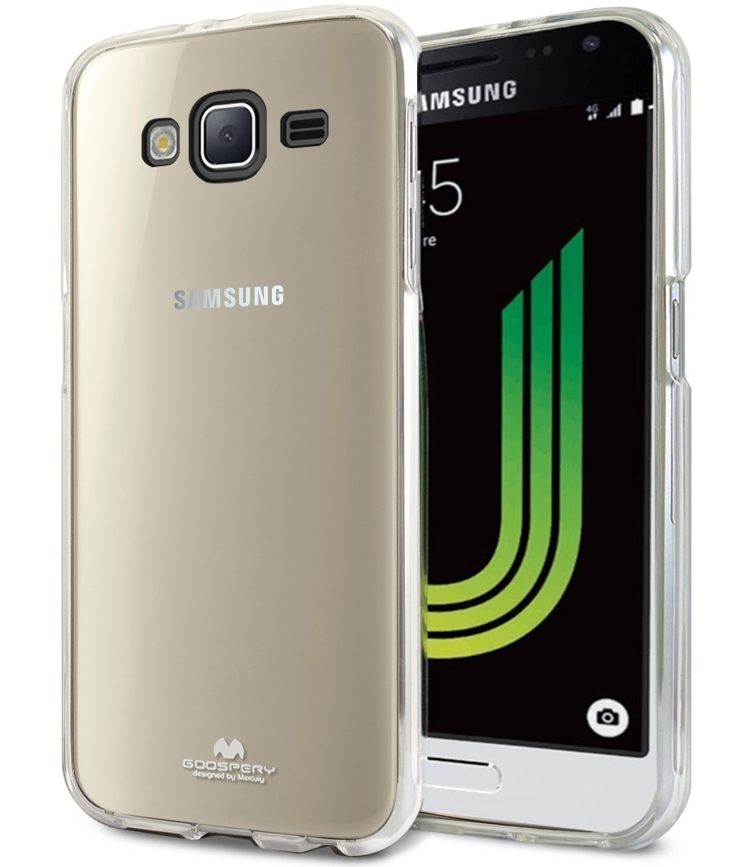Pouzdro / kryt pro Samsung GALAXY J3 (2016) J3109 - Mercury, Jelly Transparent