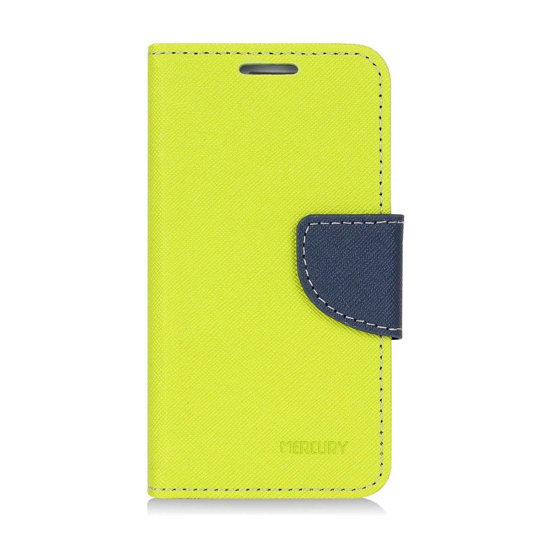 Pouzdro / kryt pro Samsung GALAXY S4 MINI I9195 - Mercury, Fancy Diary Lime/Navy