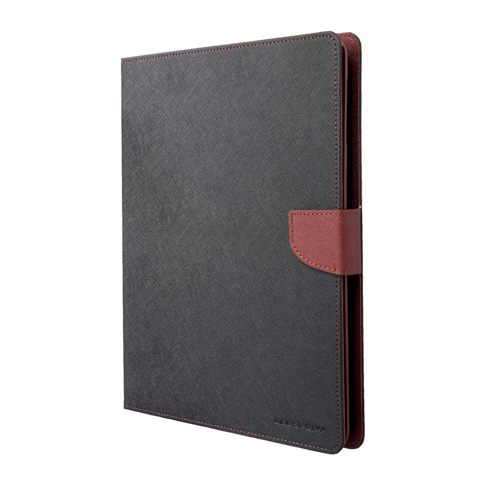 Pouzdro / kryt pro Apple iPad 2 / 3 / 4 - Mercury, Fancy Diary Black/Brown