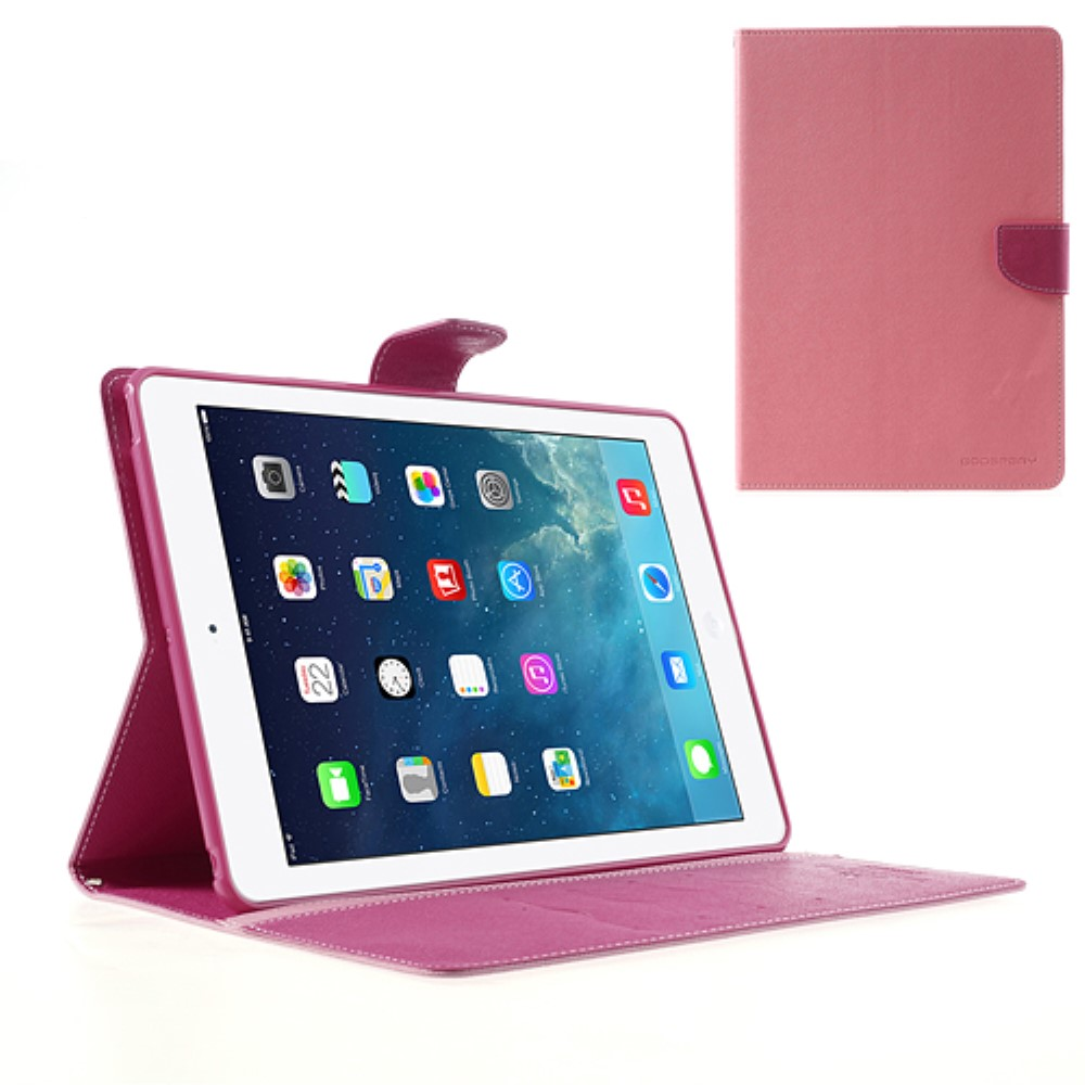 Pouzdro / kryt pro Apple iPad Air 1 - Mercury, Fancy Diary Pink/Hotpink