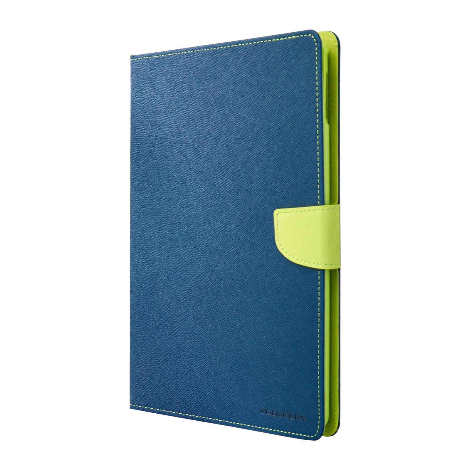 Pouzdro / kryt pro Apple iPad Air 2 - Mercury, Fancy Diary Navy/Lime