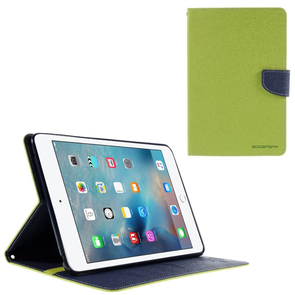 Pouzdro / kryt pro Apple iPad mini 4 - Mercury, Fancy Diary Lime/Navy