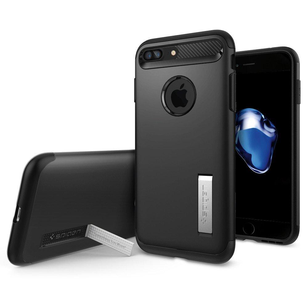 Pouzdro / kryt pro Apple iPhone 7 PLUS / 8 PLUS - Spigen, Slim Armor Black