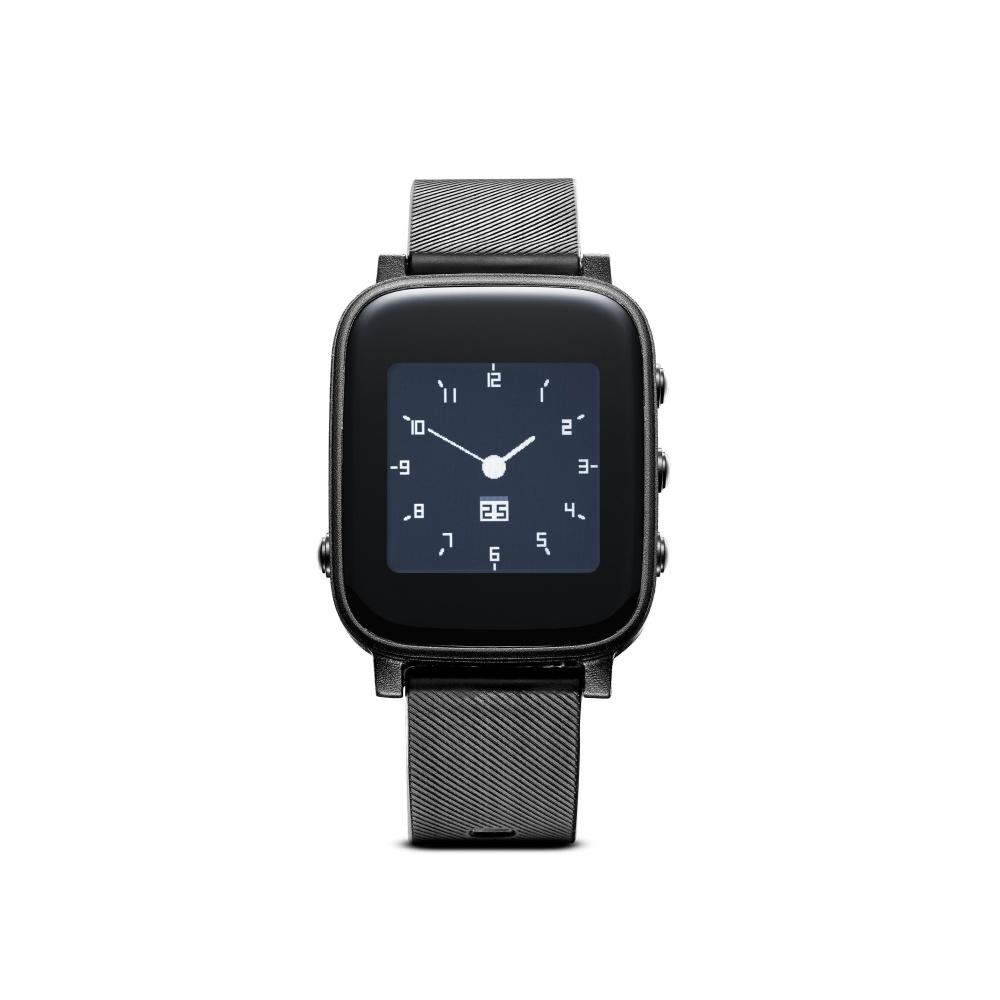 Chytré hodinky s monitorem srdečního tepu - CellularLine, EASYSMART HR Black
