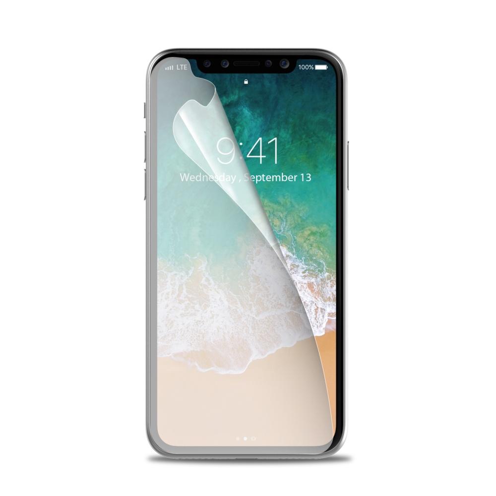 Ochranná fólie pro Apple iPhone X - CELLY, Perfetto (2ks)