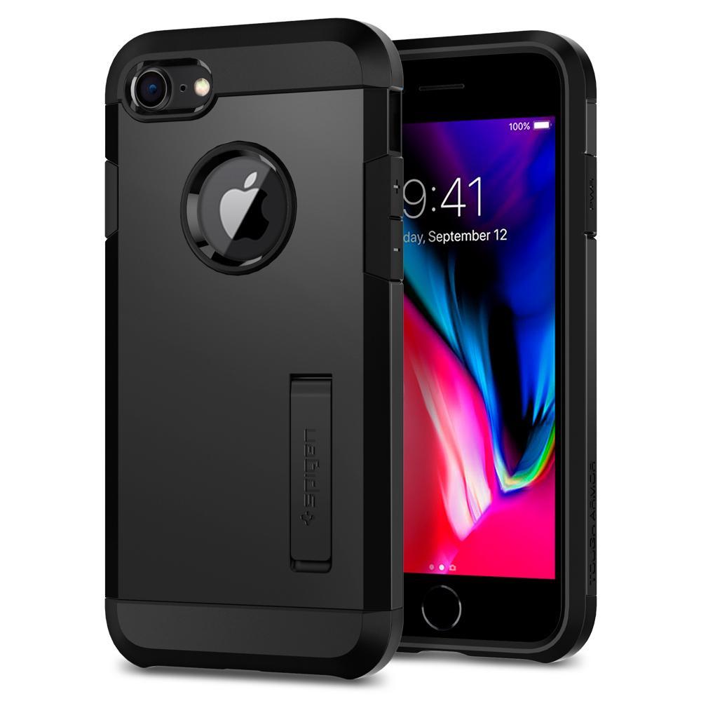 Ochranný kryt pro iPhone 7 / 8 - Spigen, Tough Armor 2 Black