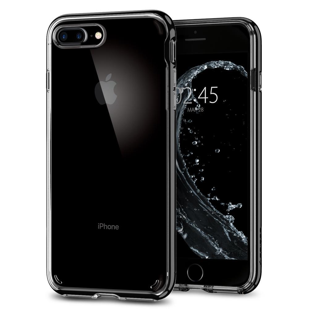 Ochranný kryt pro iPhone 7 PLUS / 8 PLUS - Spigen, Neo Hybrid Crystal 2 Jet Black
